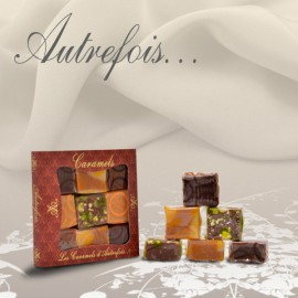 Coffret assortiment de 9 caramels 90g