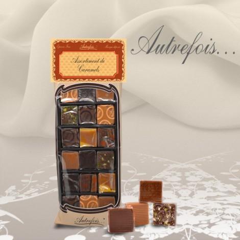Sachet assortiment 18 caramels 170g