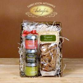 Coffret Tartinables & Croquants Olives noires
