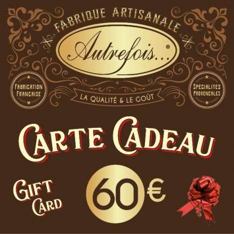 Carte Cadeaux 60€