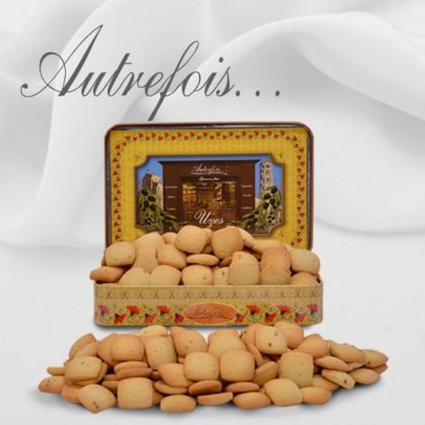 Boite décorée Péquélets Caramels 300g