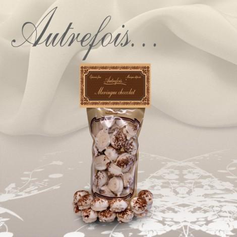 Meringue chocolat Autrefois...