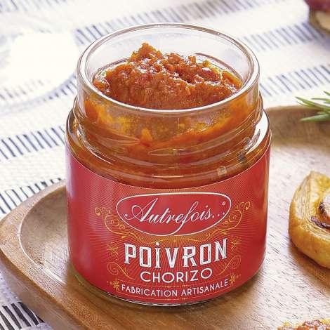 Chorizo à tartiner avec poivron