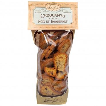 Croquants Noix/Roquefort 90g