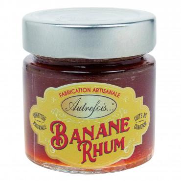 Confiture Banane Rhum