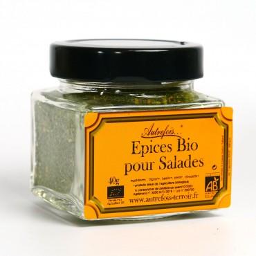 Epices bio pour salade