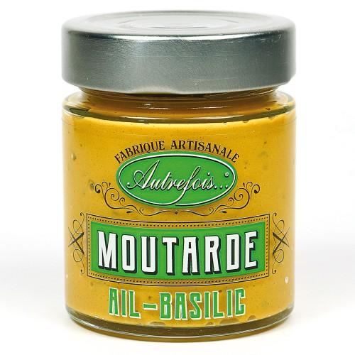 Moutarde Ail et Basilic