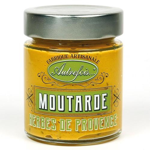 Moutarde aux herbes de Provence