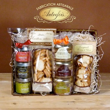Coffret Terrines, Tartinables, Croquants & Croûtons.