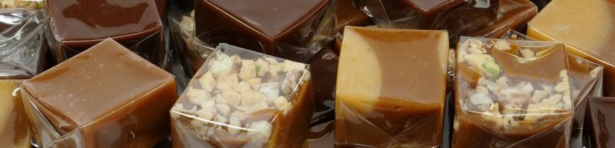 Caramel Beurre et Sel de Camargue - Nombreuses déclinaisons