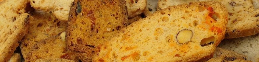 Croquant salé & Biscuit apéritif provençaux
