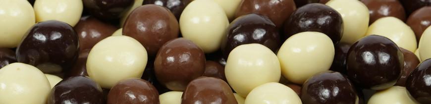 Nougatine au chocolat - Perle de Nougatine